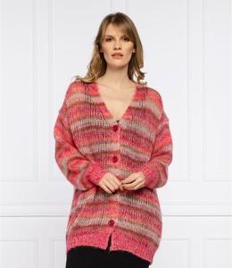 Sweter Twinset z wełny w stylu casual