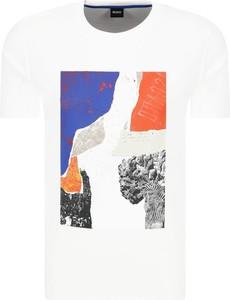 T-shirt BOSS Casual z krótkim rękawem w stylu casual