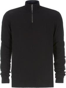 Czarny sweter Ochnik w stylu casual z bawełny