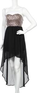 Sukienka Xtaren bez rękawów asymetryczna