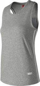 Bluzka New Balance bez rękawów z okrągłym dekoltem z bawełny