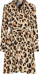 Sukienka Fabienne Chapot w stylu casual z dekoltem w kształcie litery v