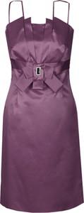 Fioletowa sukienka Fokus midi