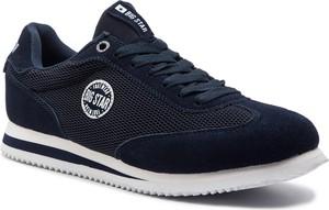 Buty sportowe Big Star z zamszu sznurowane