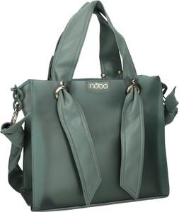 Zielona torebka NOBO matowa w wakacyjnym stylu na ramię