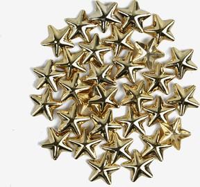 760 Ozdoba do manicure Semilac złote duże gwiazdy, 50 sztuk