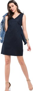 Sukienka William De Faye mini z jedwabiu