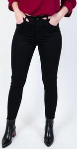 Czarne jeansy Olika z jeansu w młodzieżowym stylu