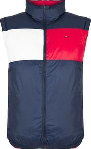 Kamizelka Tommy Hilfiger w stylu casual z tkaniny