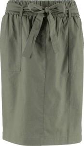 Zielona spódnica bonprix bpc bonprix collection
