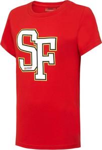 Koszulka dziecięca Scuderia Ferrari F1 Team z bawełny z krótkim rękawem