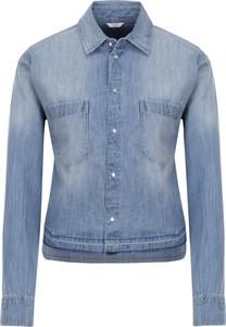 Koszula Guess Jeans w street stylu z kołnierzykiem