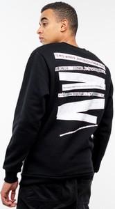 Czarna bluza El Polako z nadrukiem z bawełny