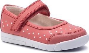 f0a663af marki butów dla dzieci. Różowe trampki dziecięce Clarks