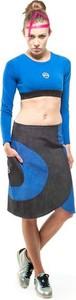 Spódnica OKUAKU midi w sportowym stylu z bawełny