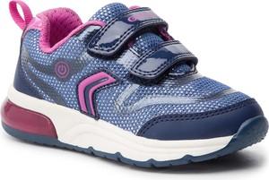 d21eb1222fb84 Niebieskie buty sportowe dziecięce Geox, kolekcja wiosna 2019