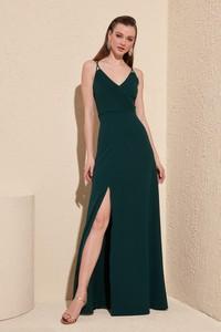 Sukienka Trendyol maxi prosta na ramiączkach