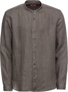 Koszula Hugo Boss w stylu casual z długim rękawem ze stójką