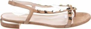 Sandały Lodi ze skóry z klamrami w stylu casual