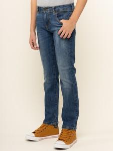 Granatowe jeansy dziecięce Guess