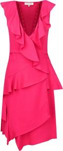 Czerwona sukienka Silvian Heach bez rękawów