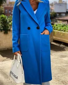 Płaszcz Kendallme w stylu casual z wełny