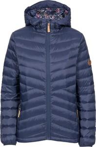 Granatowa kurtka Trespass krótka w stylu casual