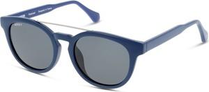 Niebieskie okulary damskie Unofficial