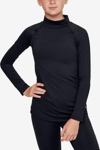 Czarna bluzka dziecięca Under Armour dla dziewczynek
