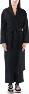 Czarny płaszcz Kaos w stylu casual