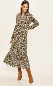 Sukienka Vero Moda z kołnierzykiem