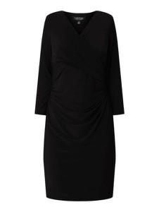 Sukienka Ralph Lauren z dekoltem w kształcie litery v mini z długim rękawem