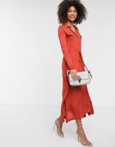 Czerwona sukienka French Connection