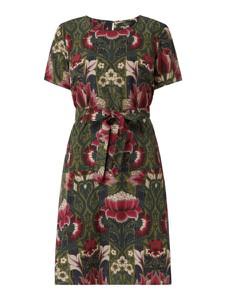 Sukienka MaxMara z jedwabiu z krótkim rękawem mini