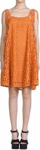 Pomarańczowa sukienka Just Cavalli w stylu casual