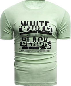 T-shirt Risardi z krótkim rękawem w młodzieżowym stylu