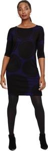 Czarna sukienka Phase Eight z długim rękawem z okrągłym dekoltem mini