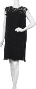 Sukienka Fervente mini bez rękawów z okrągłym dekoltem