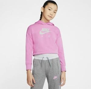 Różowa bluza dziecięca Nike