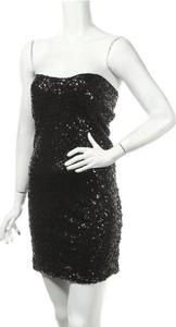 Czarna sukienka Sugar & Spice bez rękawów prosta
