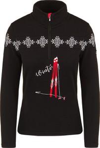 Czarny sweter Newland w stylu casual