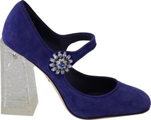 Granatowe czółenka Dolce & Gabbana