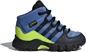 Buty trekkingowe dziecięce Adidas sznurowane z goretexu