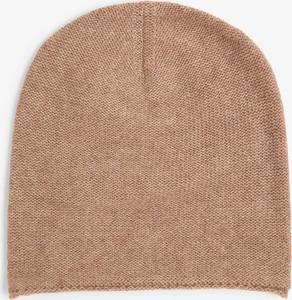Brązowa czapka Marie Lund