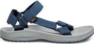 Niebieskie buty letnie męskie Teva
