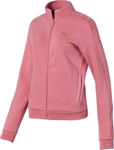 Różowa kurtka Puma krótka