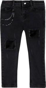 Czarne jeansy dziecięce Mayoral