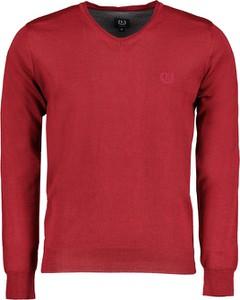 Czerwony sweter Lavard