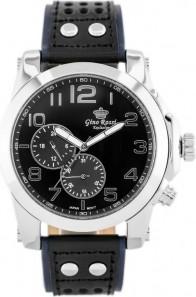 ZEGAREK MĘSKI GINO ROSSI - E11642A - EXCLUSIVE Niebieski | Czarny | Srebrny