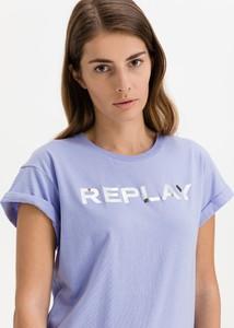 Bluzka Replay z bawełny